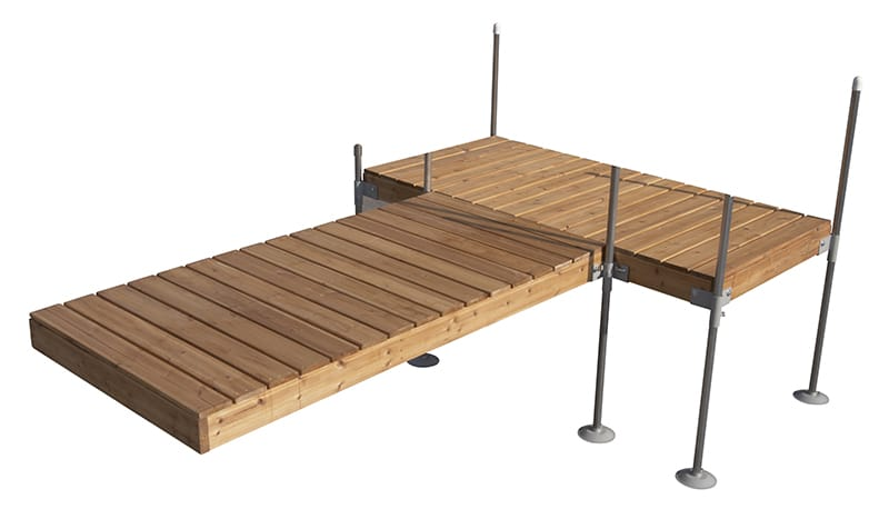 12 Foot T Shaped Dock Build A Dock Lakestyle