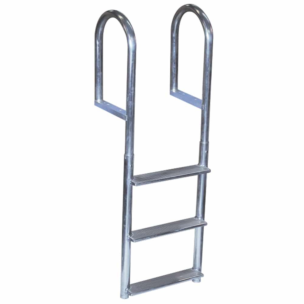 3 step aluminum dock ladder