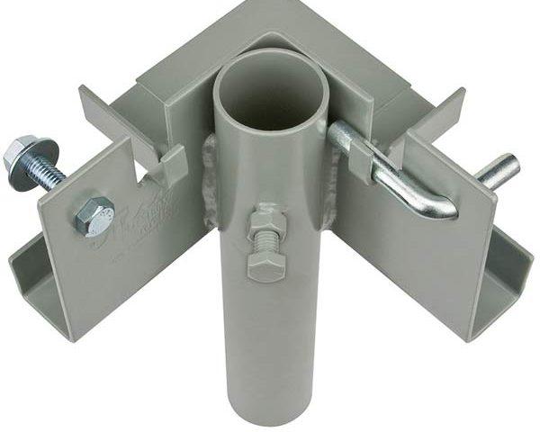 Lakestyle inside corner dock bracket