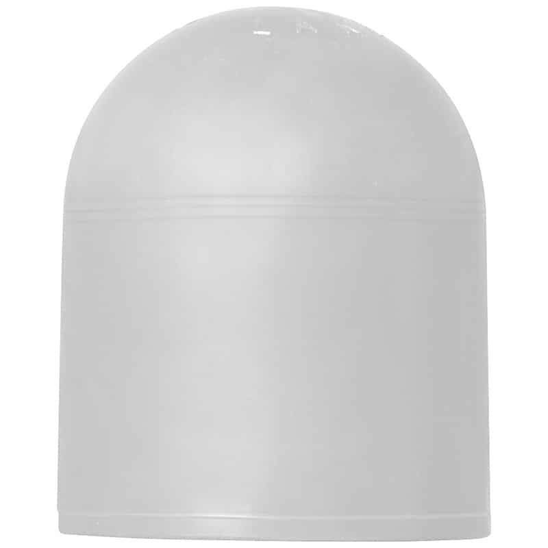 Rubber Safety Cap - White