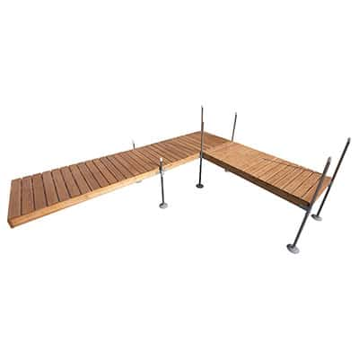 16' L-Shaped Dock Kit