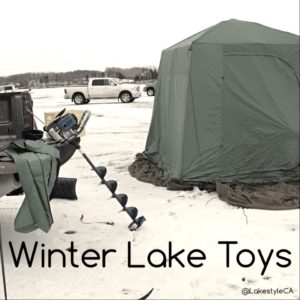 Ice Fishing - Lakestyle - Winter Lake Toys
