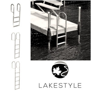 Lakestyle's Dock Ladders for Dock Safety