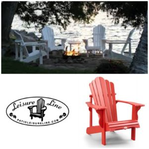 Lakestyle's Favourite Adirondack Chairs from Patio Leisure Line