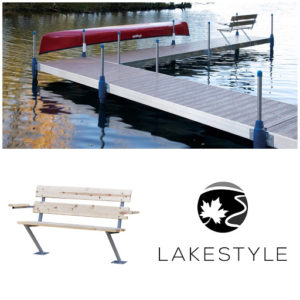 Lakestyle's 4 ft Cedar Bench