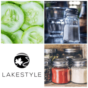 garden cucumber salad recipe